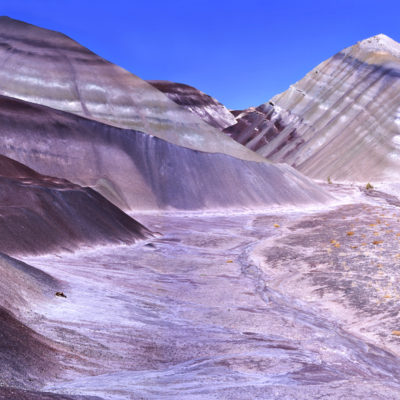 Banded Hills Panorama