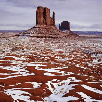 Mitten Rock Snow