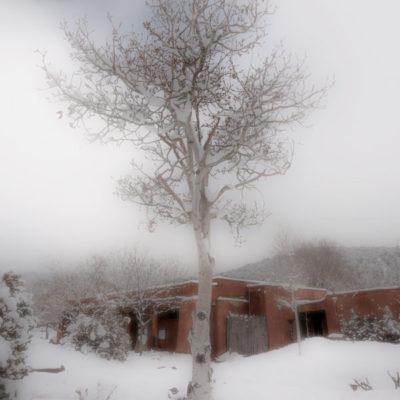 First Snow in Santa Fe