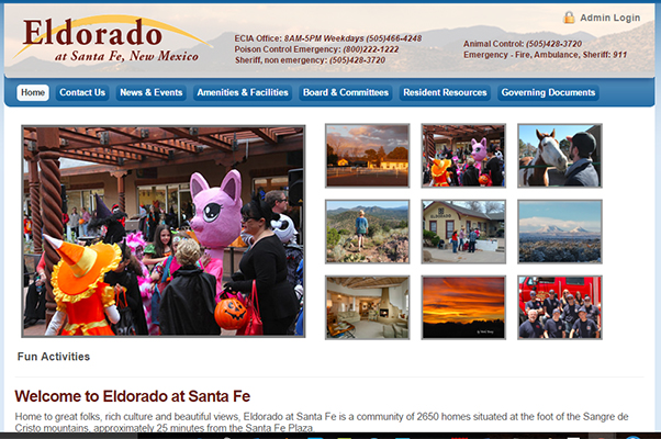 Eldorado Community Website